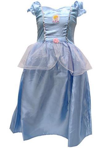 785c778883 Sukienka Kopciuszka dla dziewczynki - STROJE KARNAWAŁOWE -