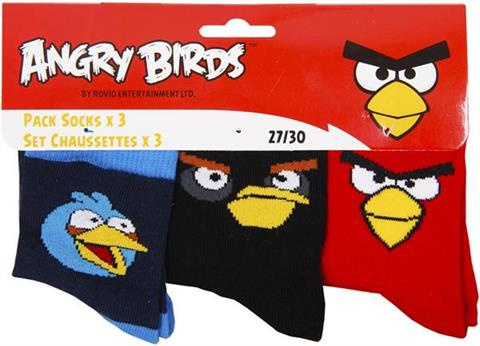 Skarpety Angry Birds 3 pack.