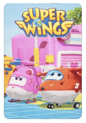 Koc polarowy Super Wings.