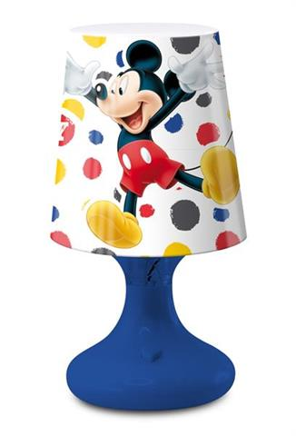 Mini lampka LED Mickey Mouse.